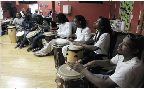 Urban Peace Movement Drumming